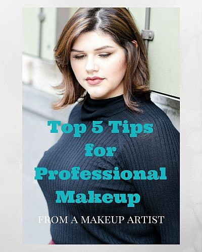 Top 5 Tips for Professional Makeup from a MUA