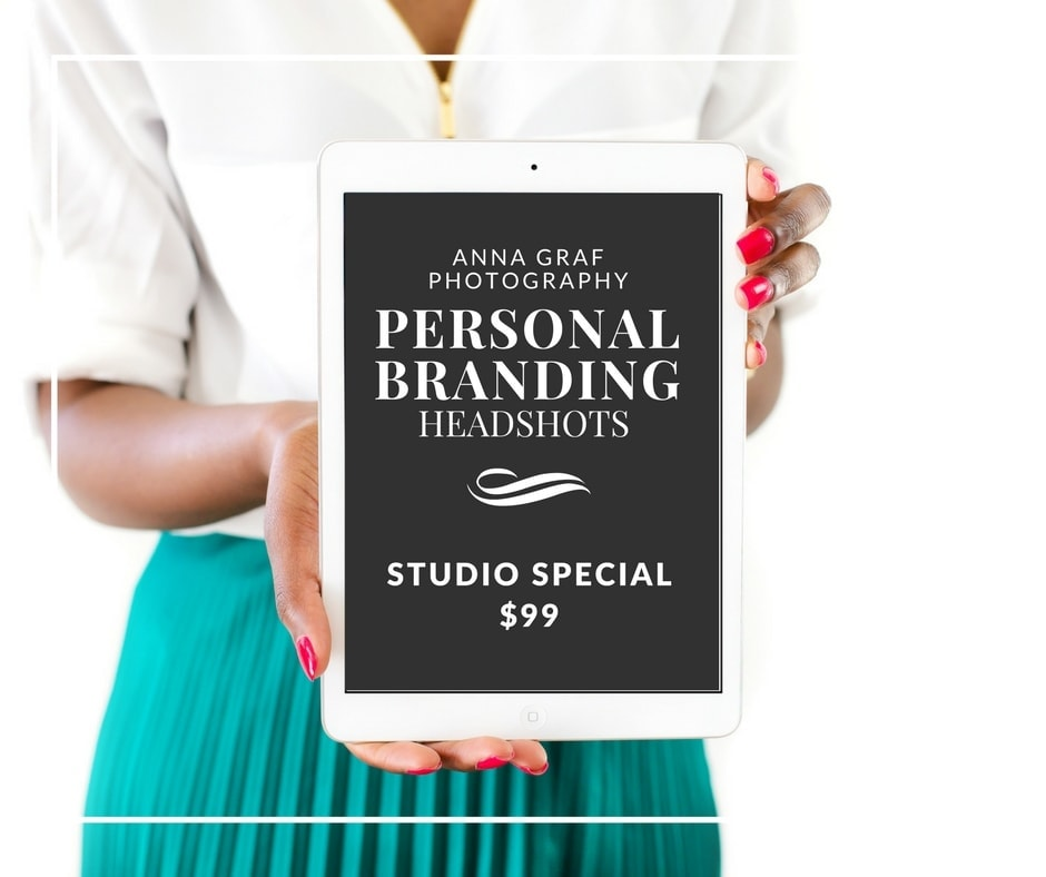 Personal Branding Headshots by Anna Graf Photography