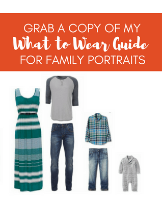 What to Wear Guide for Family Portraits
