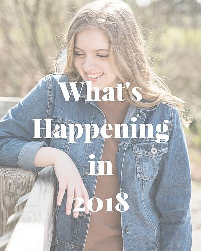 What's Happening in 2018