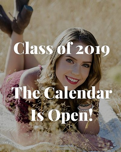 Class of 2019 – The Calendar is Open!
