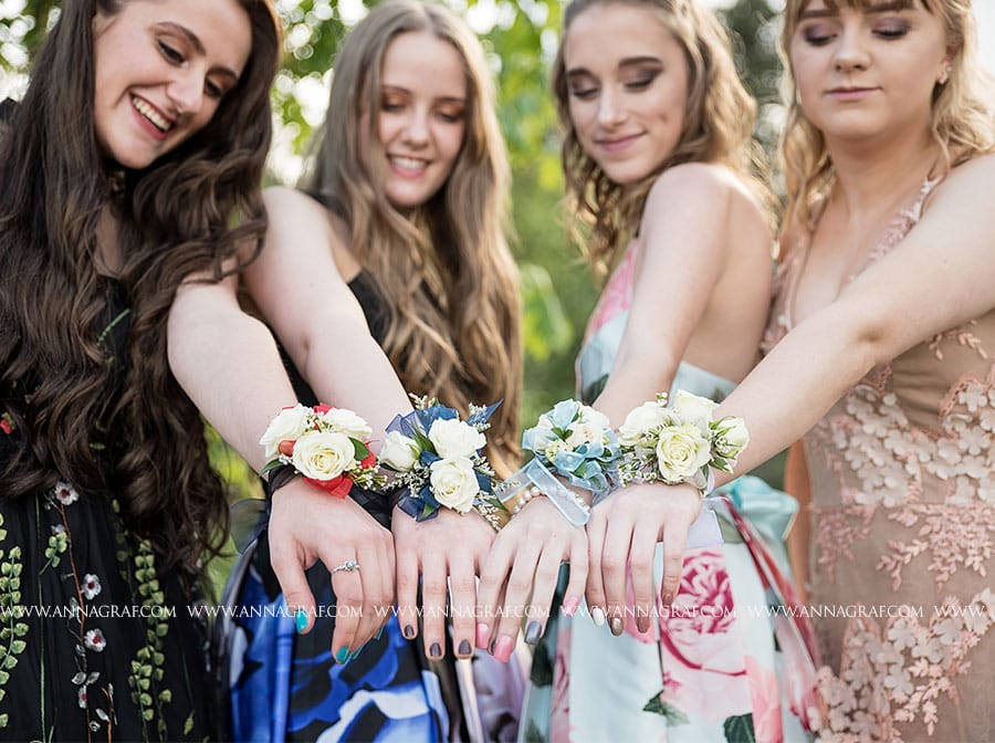 Portland Prom Corsage Pictures