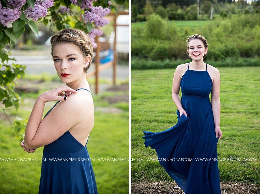Stunning Prom Portrait Portland