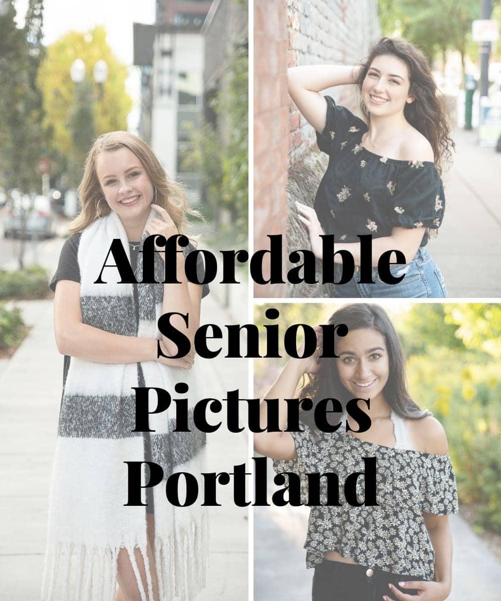 Affordable Senior Pictures – Portland