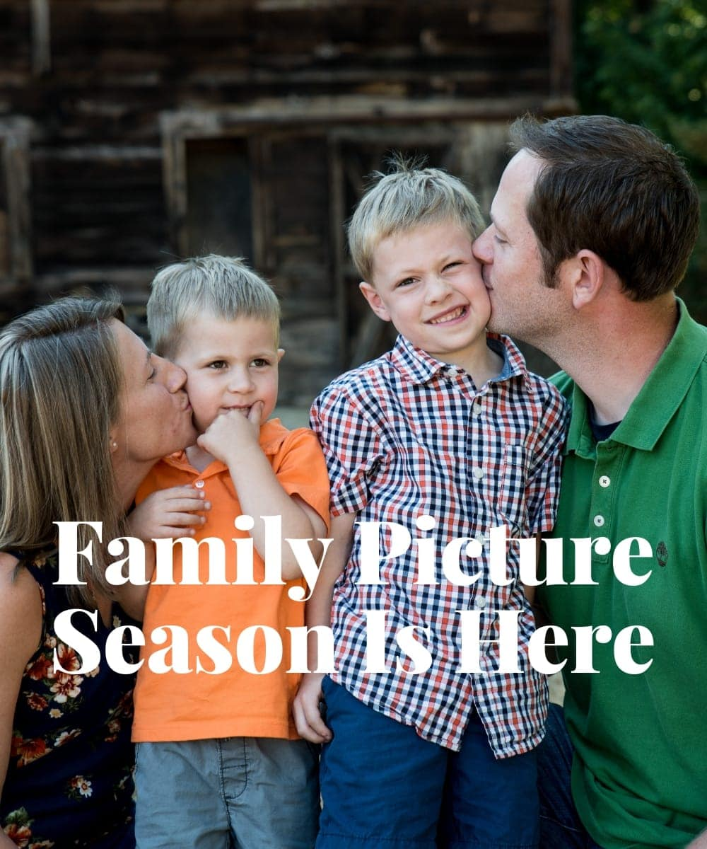 Family Picture Season Is Here
