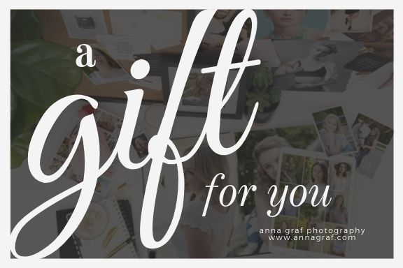 Gift Certificate with Anna Graf Photography