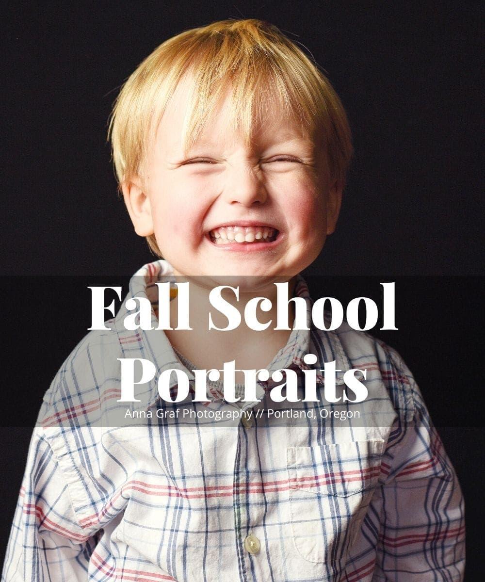 Boutique School Portraits Fall 2019