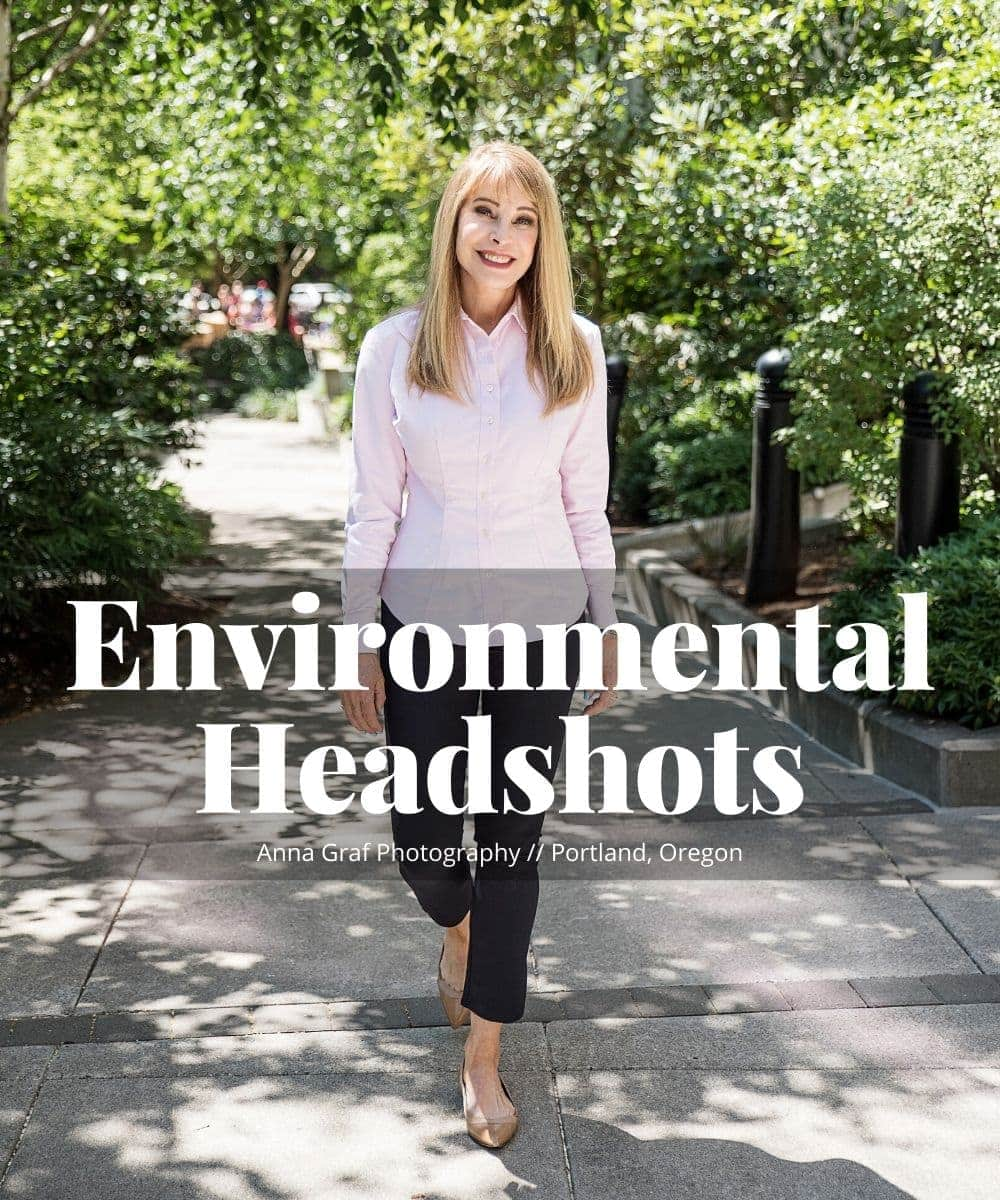 Environmental Headshots Portland with Anna Graf Photography