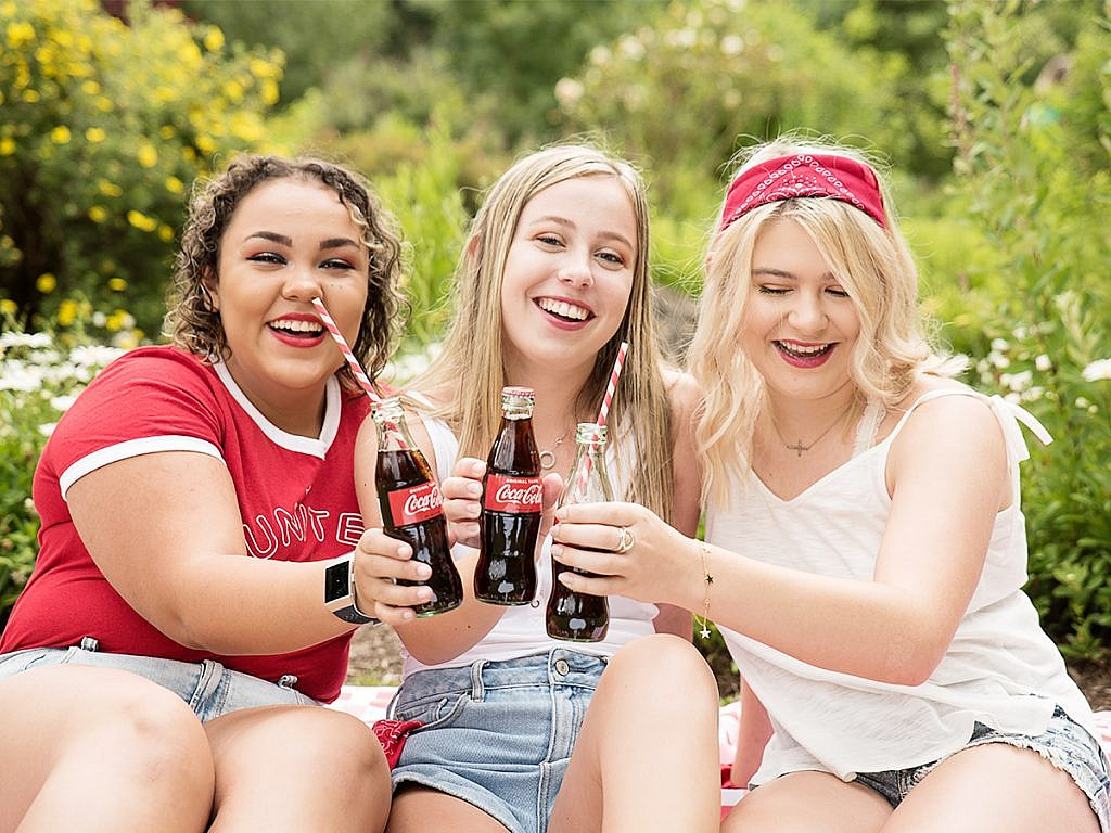 fourth of july coke party styled shoot Anna Graf Photography