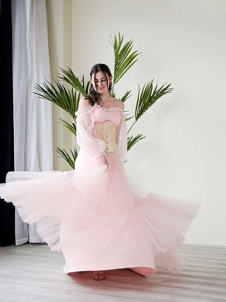 studio-senior-portrait-formal-dress-twirl